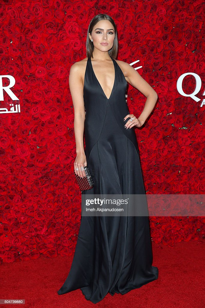 Actress/model <a gi-track='captionPersonalityLinkClicked' href=/galleries/search?phrase=Olivia+Culpo&family=editorial&specificpeople=9194131 ng-click='$event.stopPropagation()'>Olivia Culpo</a> attends the Qatar Airways Los Angeles Gala at Dolby Theatre on January 12, 2016 in Hollywood, California.