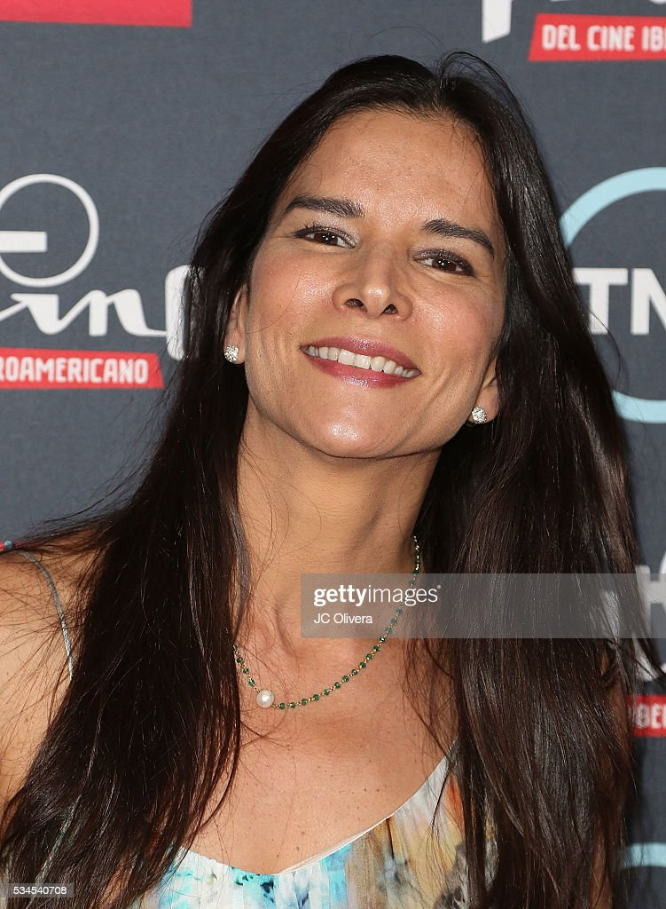 Actress/model Patricia Velazquez attends the nomination announcement for The 3rd Annual Premios Platino of Iberoamerican Cinema at The London on May 26, 2016 in West Hollywood, California.