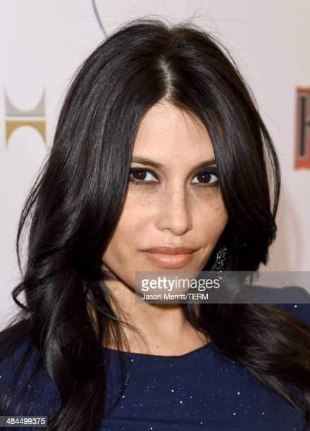 Actress/model Rachel Sterling attends the 25th Annual GLAAD Media Awards at The Beverly Hilton Hotel on April 12 2014 in Los Angeles California