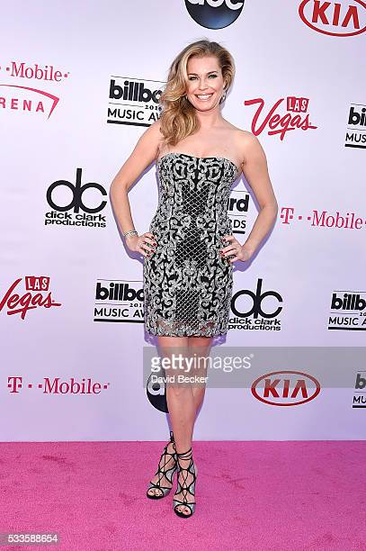 Actress/model Rebecca Romijn attends the 2016 Billboard Music Awards at TMobile Arena on May 22 2016 in Las Vegas Nevada