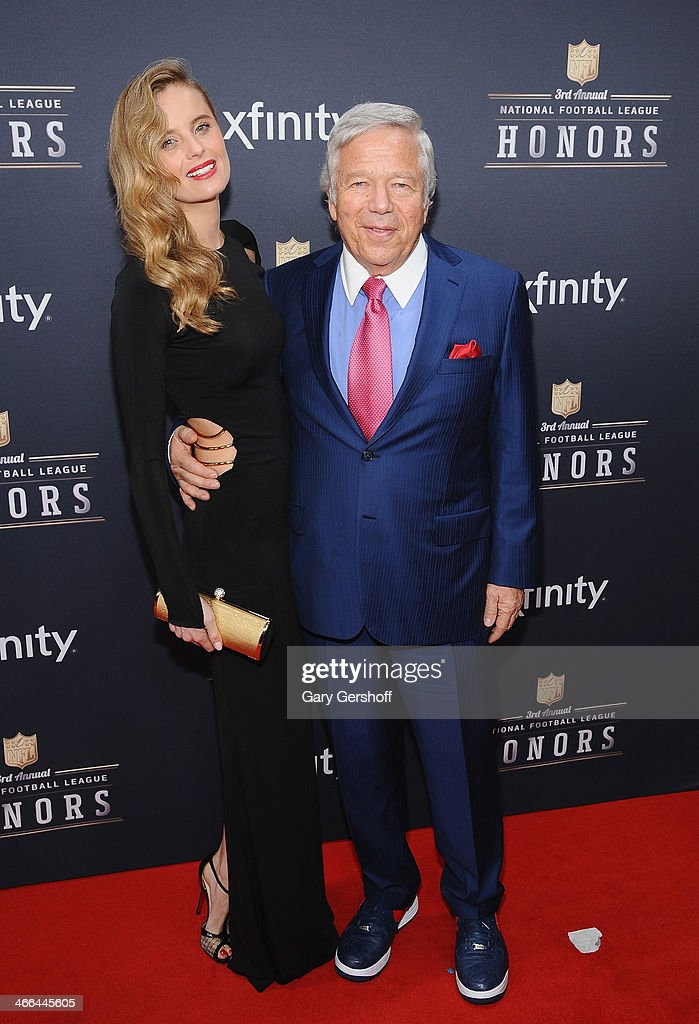 Actress/model Ricki Noel Lander and business magnate <a gi-track='captionPersonalityLinkClicked' href=/galleries/search?phrase=Robert+Kraft&family=editorial&specificpeople=221220 ng-click='$event.stopPropagation()'>Robert Kraft</a> attend the 3rd Annual NFL Honors at Radio City Music Hall on February 1, 2014 in New York City.