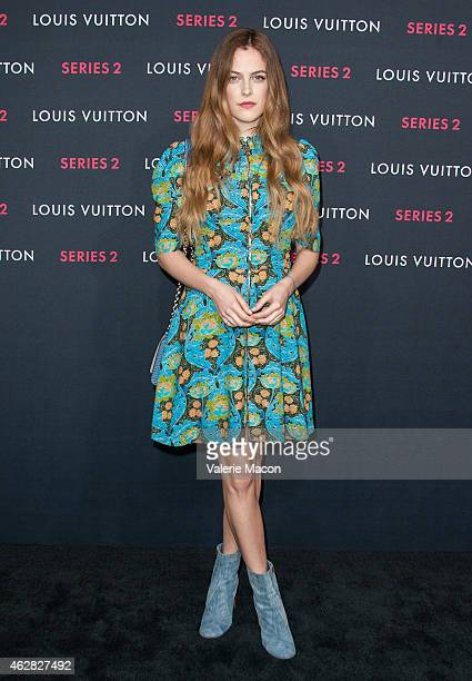 Actress/model Riley Keough arrives at Louis Vuitton 'Series 2' The Exhibition on February 5 2015 in Hollywood California