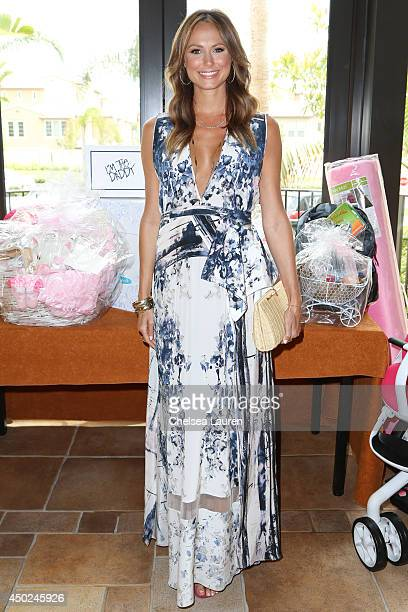 Actress/model Stacy Keibler arrives at the ClubMomMe Spring Fest at the Hyatt Regency Resort Spa on June 7 2014 in Huntington Beach California