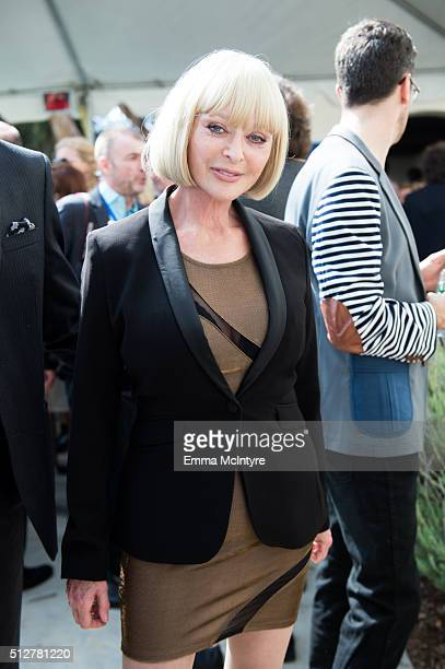 Actress/model Sybil Danning attends the German Oscar nominees reception at the Villa Aurora on February 27 2016 in Pacific Palisades California