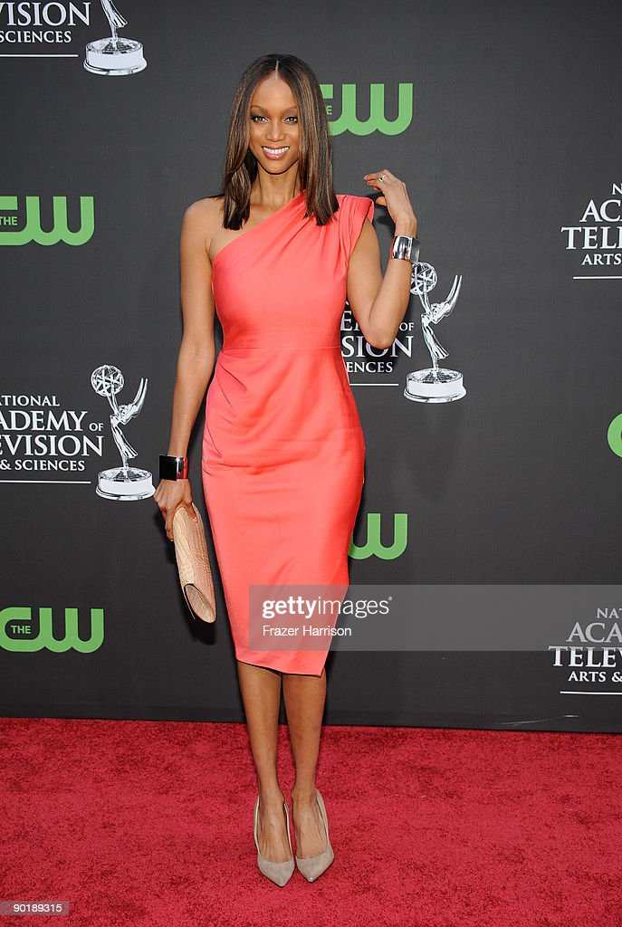 Actress/model Tyra Banks arrives at the 36th Annual Daytime Emmy Awards at The Orpheum Theatre on August 30, 2009 in Los Angeles, California.