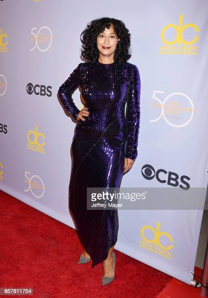 Actressmodelcomedian Tracee Ellis Ross attends the CBS' 'The Carol Burnett Show 50th Anniversary Special' at CBS Televison City on October 4 2017 in...