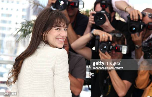 Actress/musician Charlotte Gainsbourg attends 'The Tree' Photo Call held at the Palais des Festivals during the 63rd Annual International Cannes Film...
