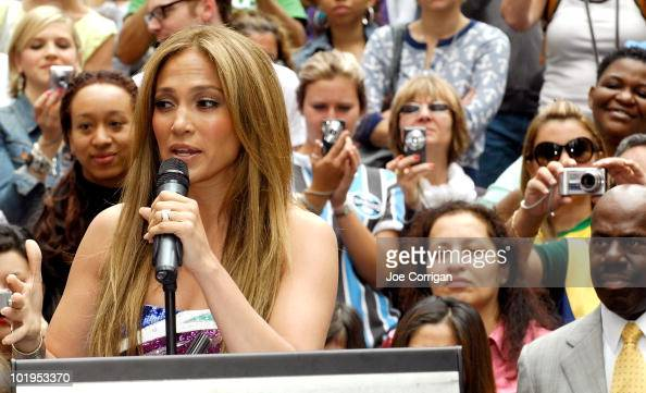 Actress/musician Jennifer Lopez attends the unveiling of the 'Be Extraordinary' billboard for the Boys Girls Clubs Youth Advocacy Campaign in Times...
