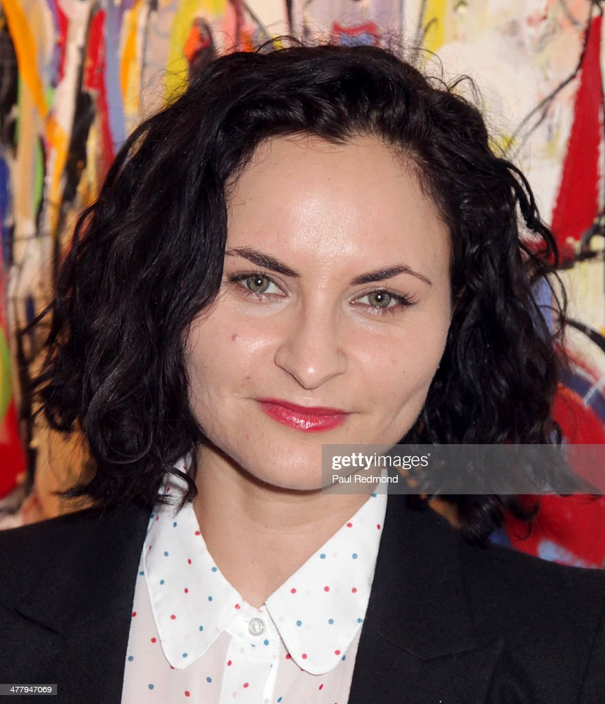 Actress/musician <a gi-track='captionPersonalityLinkClicked' href=/galleries/search?phrase=Rain+Phoenix&family=editorial&specificpeople=669891 ng-click='$event.stopPropagation()'>Rain Phoenix</a> attends Alexander Yulish 'An Unquiet Mind' VIP Opening Reception at KM Fine Arts LA Studio on March 8, 2014 in Los Angeles, California.
