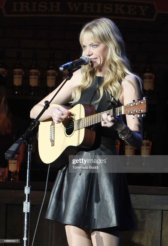 Actress/musician Riki Lindhome performs onstage at Variety's 3rd annual Power of Comedy event presented by Bing benefiting the Noreen Fraser Foundation held at Avalon on November 17, 2012 in Hollywood, California.