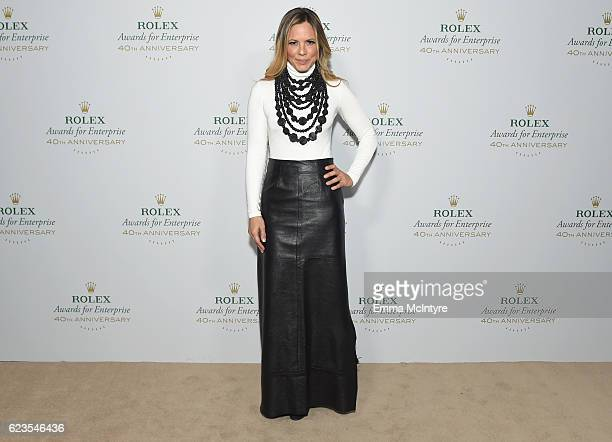Actress/presenter Maria Bello attends the 2016 Rolex Awards for Enterprise at the Dolby Theatre on November 15 2016 in Hollywood California