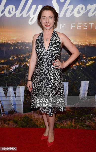 Actress/producer Angela DiMarco attends the Primetime Short Films series during the 2017 HollyShorts Film Festival at TCL Chinese 6 Theatres on...