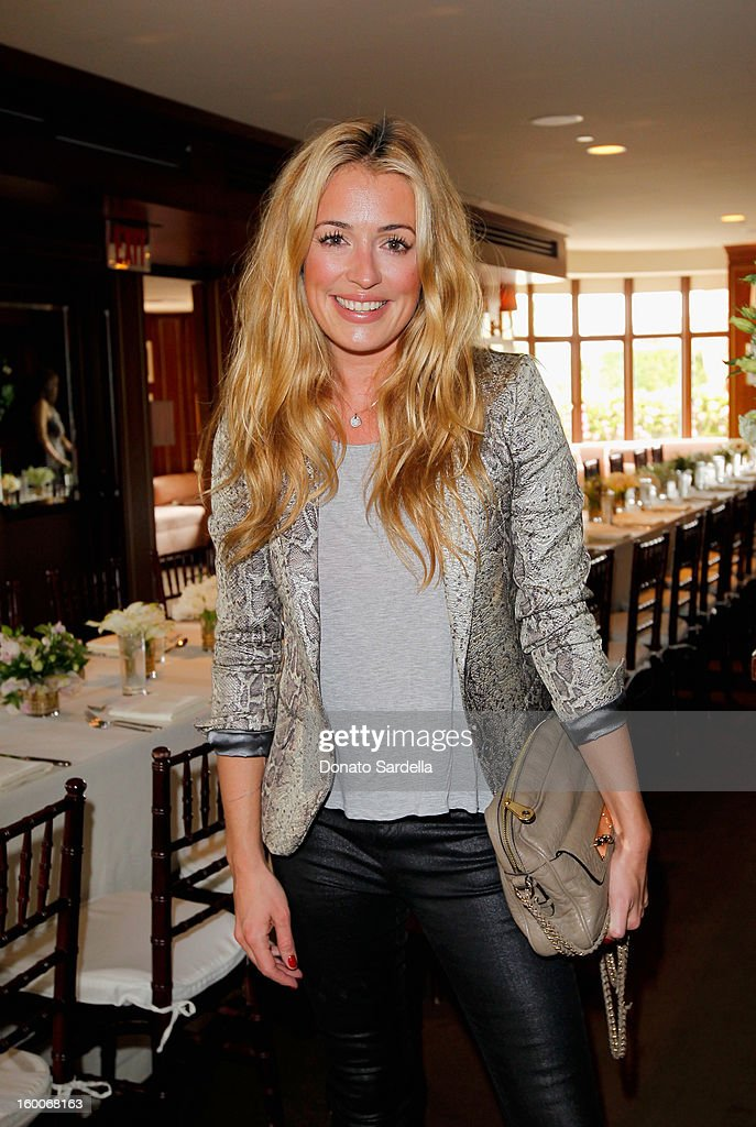 Actress/producer Cat Deeley attends the Champagne Taittinger Women in Hollywood Lunch hosted by Vitalie Taittinger at Sunset Tower on January 25, 2013 in West Hollywood, California.