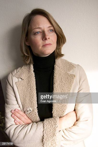Actress/producer Jodie Foster promoting the film 'The Dangerous Lives Of Altar Boys' at the 2002 Sundance Film Festival in Park City Utah1/18/2002...