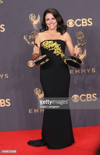 Actress/producer Julia LouisDreyfus winner of the awards for Outstanding Comedy Series and Outstanding Lead Actress in a Comedy Series for 'Veep'...