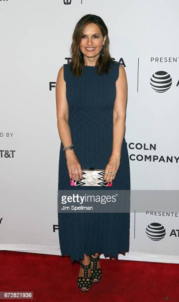 Actress/producer Mariska Hargitay attends the 'I Am Evidence' screening during the 2017 Tribeca Film Festival at SVA Theatre on April 24 2017 in New...