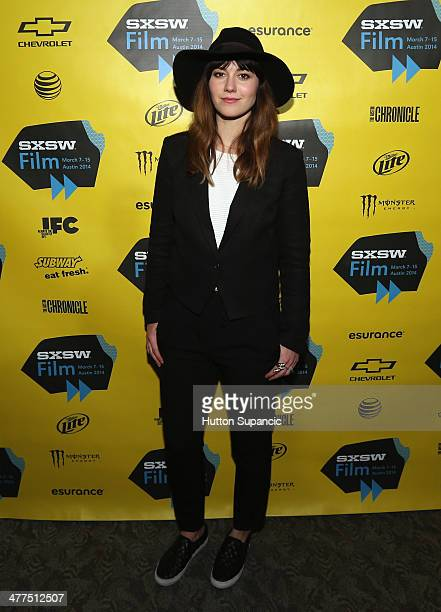 Actress/producer Mary Elizabeth Winstead attends the 'Faults' Photo Op and QA during the 2014 SXSW Music Film Interactive Festival at Stateside...