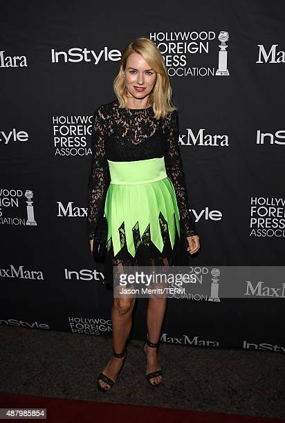 Actress/Producer Naomi Watts ttends the InStyle HFPA party during the 2015 Toronto International Film Festival at the Windsor Arms Hotel on September...