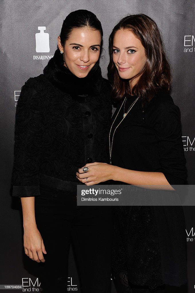 Actress/producer Olga Segura and actress Kaya Scodelario attend The Next Generation Filmmaker Dinner Series Presents 'Emanuel And The Truth About Fishes' on January 18, 2013 in Park City, Utah.
