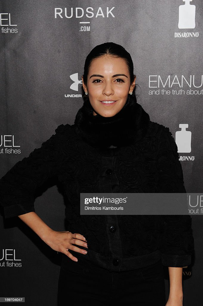 Actress/producer Olga Segura attends The Next Generation Filmmaker Dinner Series Presents 'Emanuel And The Truth About Fishes' on January 18, 2013 in Park City, Utah.