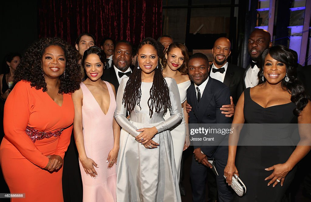 Actress/producer <a gi-track='captionPersonalityLinkClicked' href=/galleries/search?phrase=Oprah+Winfrey&family=editorial&specificpeople=171750 ng-click='$event.stopPropagation()'>Oprah Winfrey</a>, producer <a gi-track='captionPersonalityLinkClicked' href=/galleries/search?phrase=Jeremy+Kleiner&family=editorial&specificpeople=10965353 ng-click='$event.stopPropagation()'>Jeremy Kleiner</a>, actors <a gi-track='captionPersonalityLinkClicked' href=/galleries/search?phrase=Tessa+Thompson&family=editorial&specificpeople=808125 ng-click='$event.stopPropagation()'>Tessa Thompson</a>, <a gi-track='captionPersonalityLinkClicked' href=/galleries/search?phrase=Wendell+Pierce&family=editorial&specificpeople=2236213 ng-click='$event.stopPropagation()'>Wendell Pierce</a>, director <a gi-track='captionPersonalityLinkClicked' href=/galleries/search?phrase=Ava+DuVernay&family=editorial&specificpeople=7197952 ng-click='$event.stopPropagation()'>Ava DuVernay</a>, actors <a gi-track='captionPersonalityLinkClicked' href=/galleries/search?phrase=Carmen+Ejogo&family=editorial&specificpeople=663806 ng-click='$event.stopPropagation()'>Carmen Ejogo</a>, <a gi-track='captionPersonalityLinkClicked' href=/galleries/search?phrase=David+Oyelowo&family=editorial&specificpeople=633075 ng-click='$event.stopPropagation()'>David Oyelowo</a>, <a gi-track='captionPersonalityLinkClicked' href=/galleries/search?phrase=Common+-+Rapper&family=editorial&specificpeople=4124329 ng-click='$event.stopPropagation()'>Common</a>, <a gi-track='captionPersonalityLinkClicked' href=/galleries/search?phrase=Omar+J.+Dorsey&family=editorial&specificpeople=4029296 ng-click='$event.stopPropagation()'>Omar J. Dorsey</a> and <a gi-track='captionPersonalityLinkClicked' href=/galleries/search?phrase=Niecy+Nash&family=editorial&specificpeople=228464 ng-click='$event.stopPropagation()'>Niecy Nash</a> attend the 46th NAACP Image Awards presented by TV One at Pasadena Civic Auditorium on February 6, 2015 in Pasadena, California.