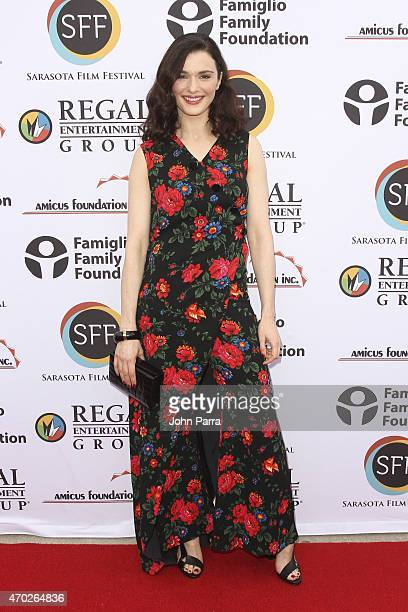 Actress/producer Rachel Weisz wearing Celine arrives to the red carpet for the film 'I'll See You in My Dreams' during the 2015 Sarasota Film...