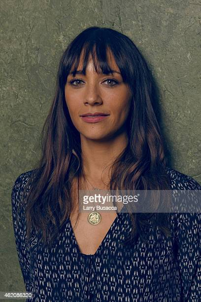 actress/producer Rashida Jones from 'Hot Girls Wanted' poseS for a portrait at the Village at the Lift Presented by McDonald's McCafe during the 2015...