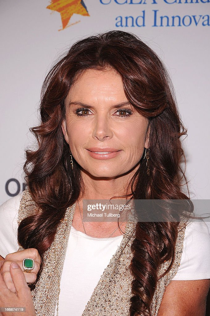 Actress/producer Roma Downey attends 'The Kaleidescope Ball' benefitting The UCLA Children's Discovery And Innovation Institute at Beverly Hills Hotel on April 17, 2013 in Beverly Hills, California.