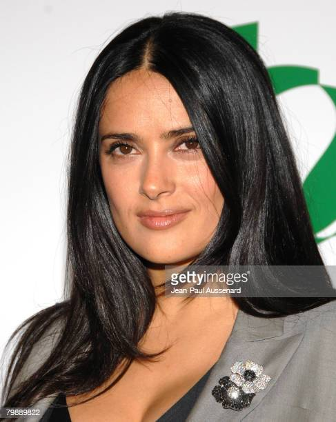 Actress/producer Salma Hayek arrives at Global Green USA 5th preOscar Party held at Avalon on February 20 2008 in Hollywood California