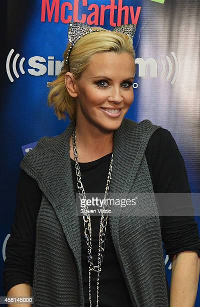 Actress/radio host Jenny McCarthy visits SiriusXM Studios on October 30 2014 in New York City