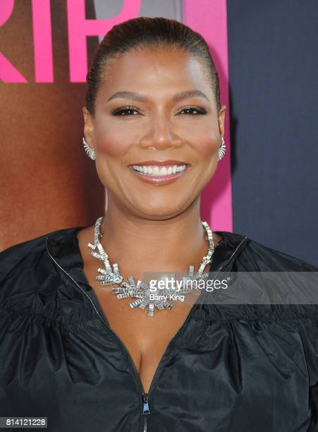 Actress/rapper Queen Latifah atttends the premiere of Universal Pictures' 'Girls Trip' at Regal LA Live Stadium 14 on July 13 2017 in Los Angeles...