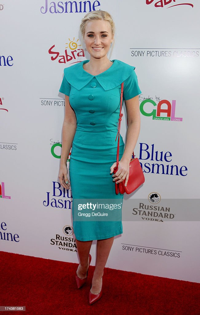 Actress/recording artist AJ Michalka arrives at the Los Angeles premiere of 'Blue Jasmine' at the Academy of Motion Picture Arts and Sciences on July 24, 2013 in Beverly Hills, California.