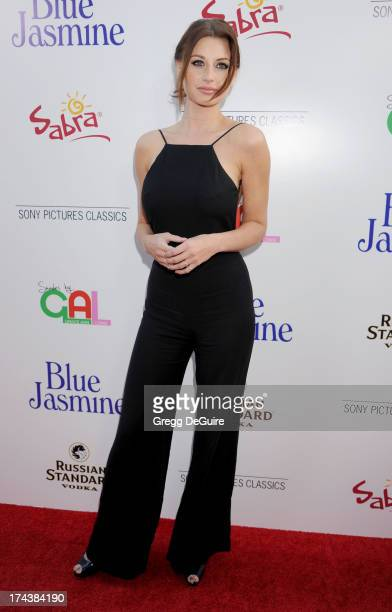 Actress/recording artist Aly Michalka arrives at the Los Angeles premiere of 'Blue Jasmine' at the Academy of Motion Picture Arts and Sciences on...