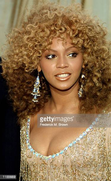 Actress/recording artist Beyonce Knowles attends the film premiere of Austin Powers in 'Goldmember' July 22 in Los Angeles California The film opens...