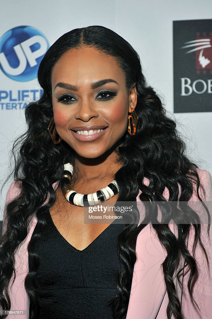 Actress/Recording Artist Dametria McKinney attends the premiere of 'In the Meantime' at the Woodruff Arts Center on August 14, 2013 in Atlanta, Georgia.