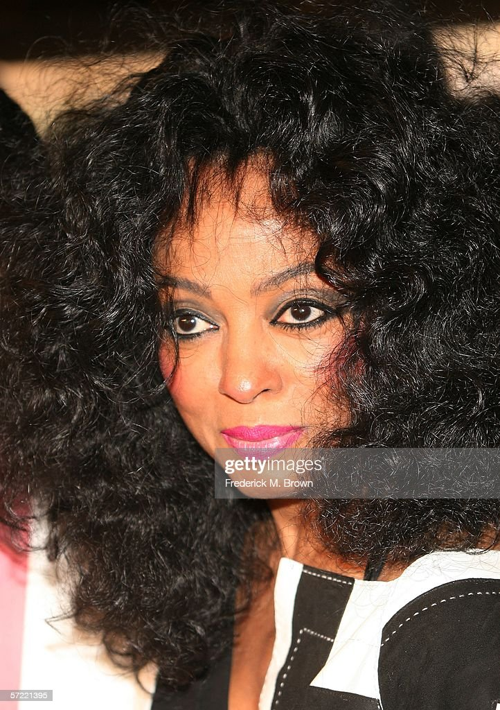 Actress/recording artist Diana Ross attends the 'ATL' film premiere at Grauman's Chinese Theater on March 30, 2006 in Hollywood, California. (Photo by Frederick M. Brown/Getty Images).