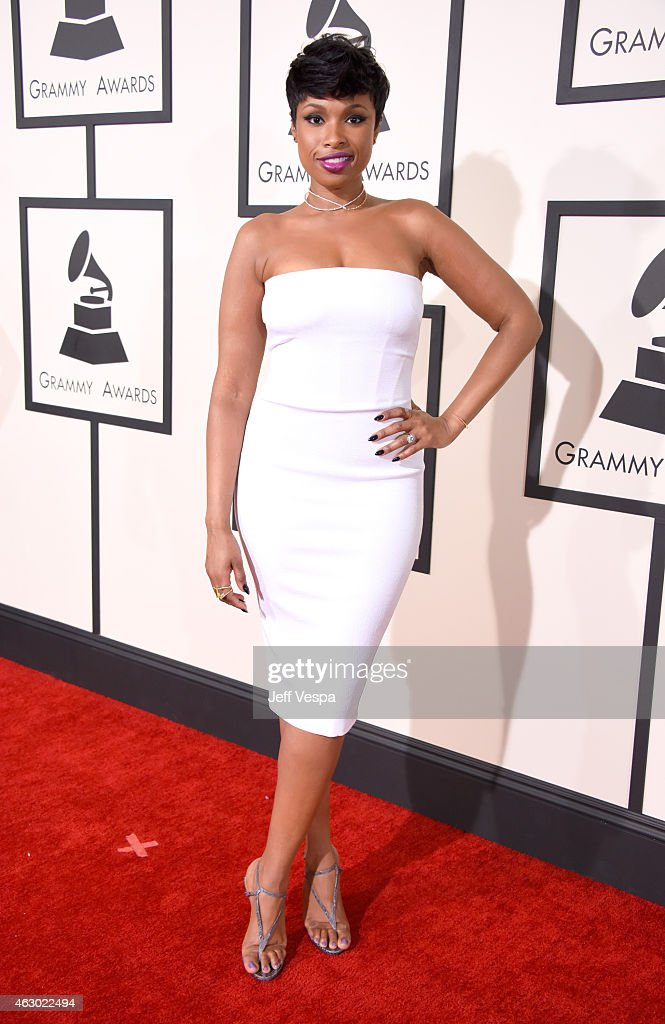 Actress/Recording artist Jennifer Hudson attends The 57th Annual GRAMMY Awards at the STAPLES Center on February 8 2015 in Los Angeles California