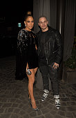 Actress/recording artist Jennifer Lopez and Casper Smart attends Jennifer Lopez's 2015 American Music Awards After Party hosted by CÎROC with Cross...
