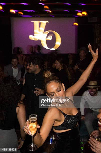 Actress/recording artist Jennifer Lopez attends Jennifer Lopez's 2015 American Music Awards After Party hosted by CÎROC with Cross Pens on November...
