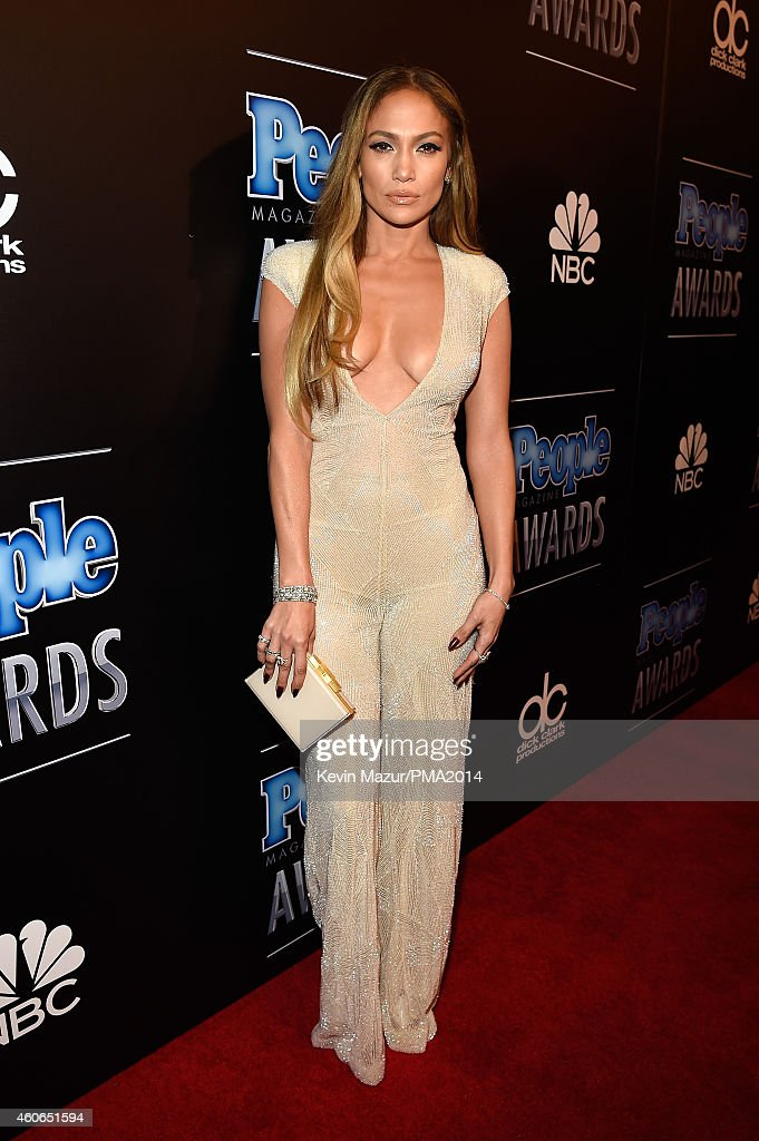Actress/recording artist Jennifer Lopez attends the PEOPLE Magazine Awards at The Beverly Hilton Hotel on December 18, 2014 in Beverly Hills, California.