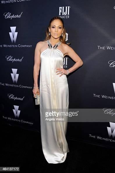 Actress/recording artist Jennifer Lopez attends The Weinstein Company's Academy Awards Nominees Dinner in partnership with Chopard DeLeon Tequila...
