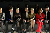 Actress/recording artist Jennifer Lopez model/actor Patrick Schwarzenegger recording artist Miley Cyrus journalist Romain Dauriac actress Scarlett...