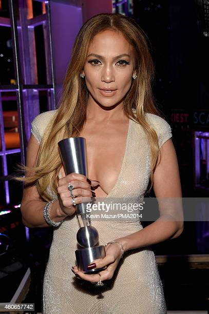Actress/recording artist Jennifer Lopez winner of PEOPLE's Triple Threat award attends the PEOPLE Magazine Awards at The Beverly Hilton Hotel on...