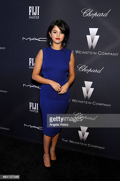 Actress/recording artist Selena Gomez attends The Weinstein Company's Academy Awards Nominees Dinner in partnership with Chopard DeLeon Tequila FIJI...