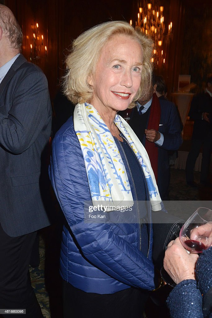Actresss Brigitte Fossey attends the 'Bristol des Lumieres' Literary Awards At Hotel Bristol on January 20 2014 in Paris France