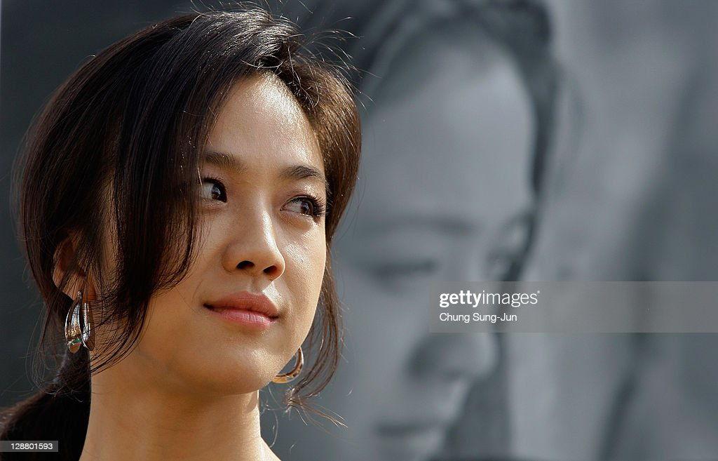 Actresss Tang Wei attends at the Open Talk 'Wu Xia' at Haeundae seashore during the 16th Busan International Film Festival (BIFF) on October 9, 2011 in Busan, South Korea. The biggest film festival in Asia showcases 307 films from 70 countries and runs from October 6-14.