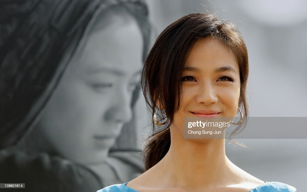 Actresss Tang Wei attends at the Open Talk 'Wu Xia' at Haeundae seashore during the 16th Busan International Film Festival on October 9 2011 in Busan...