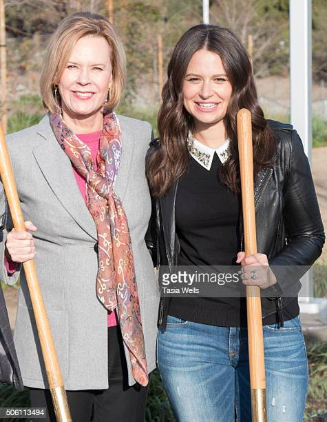 Actress/SAG Awards committee chair JoBeth Williams and actress Katie Lowes attends the 22nd annual Screen Actors Guild Awards and American Forests...