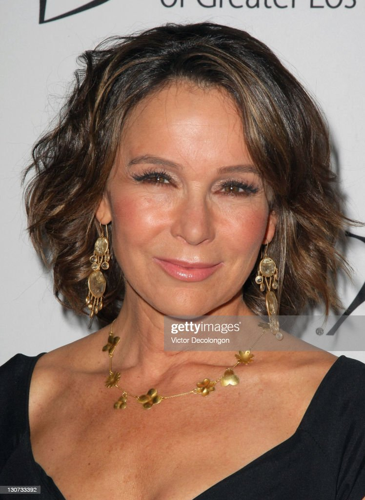 Actress/show presenter Jennifer Grey arrives for The Big Brothers Big Sisters Of Greater Los Angeles' '2011 Rising Stars Gala' at The Beverly Hilton hotel on October 28, 2011 in Beverly Hills, California.