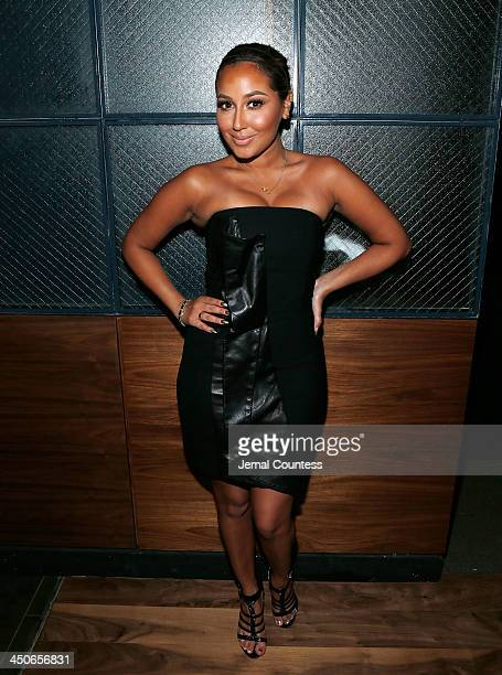 Actress/singer Adrienne Bailon attends the Baron Tequila Launch Party at Butter Restaurant on November 19 2013 in New York City